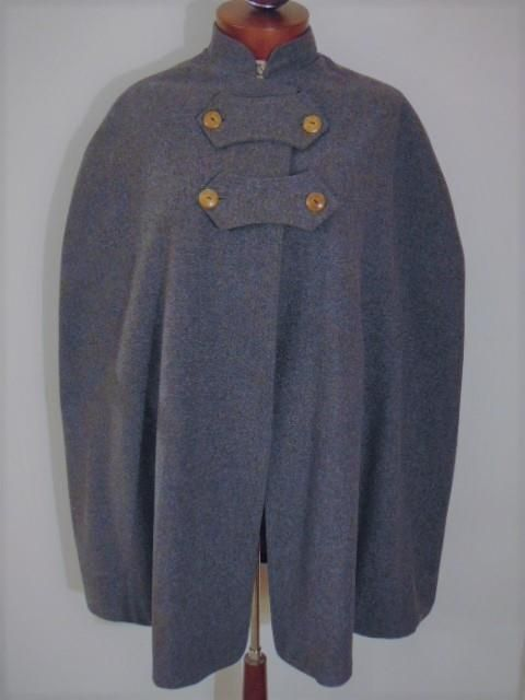 ANTIQUE VINTAGE 1940s WWII BLUE GRAY WOOL NURSE CAPE UNIFORM FROM LORAIN OHIO ST. JOSEPH's HOSPITAL MILITARY by STANDARD APPAREL of CLEVELAND OHIO #StandardApparel #Antique #Vintage #1940s #WWII #Nurse #Hospital #Military #Navy #Nursing #NurseCape #Capes #Uniforms #Wool #MilitaryUniform #Lorain #Ohio #Cleveland #History #Nostalgia #USA #Medicine #Collectibles #StJosephHospital #VintageClothing #VintageCape #VintageCoat