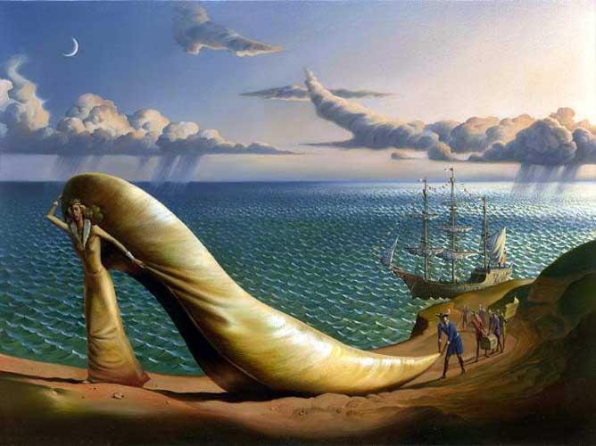 Landschaftsmalerei surrealismus  122 besten Vladimir Kush Bilder auf Pinterest | surreale Kunst ...