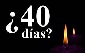 La Cuaresma toma su nombre del número cuarenta, que en la Sagrada Escritura es un tiempo de preparación y travesía.#40días 💒