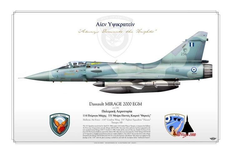"HELLENIC AIR FORCE . ΠΟΛΕΜΙΚΉ ΑΕΡΟΠΟΡΊΑ 114th Combat Wing, 331st Fighter Squadron ""Theseus"" Tanagra AB"