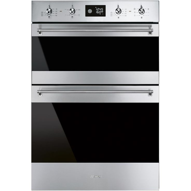 Smeg Classic DOSF6390X Double Built In Electric Oven (DOSF6390X) - Stainless Steel