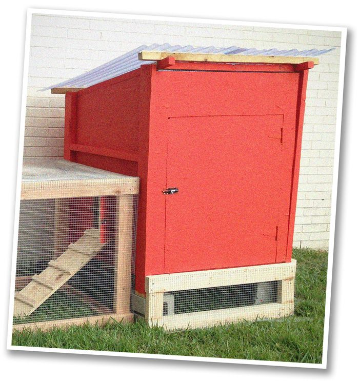 Best 25 simple chicken coop ideas on pinterest diy for Small backyard chicken coop plans free