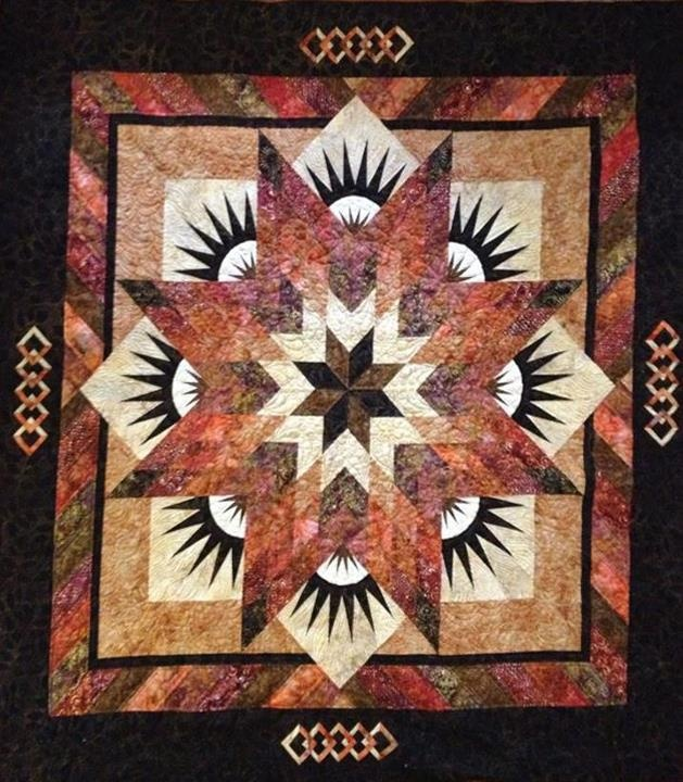 Summer Solstice ~ Quiltworx.com   Made by Kathy Daigle
