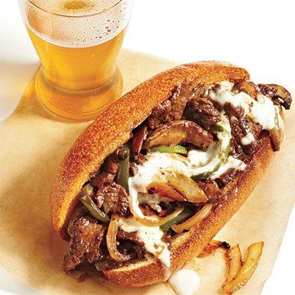 Philly Cheesesteak Recipe | MyRecipes.com