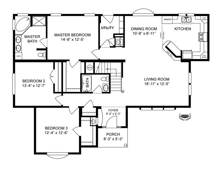 Best House Plans Images On Pinterest Clayton Homes Home - Clayton modular homes floor plans