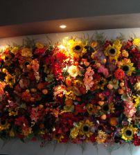 Flower Wall Bloemenwand Indian Summer