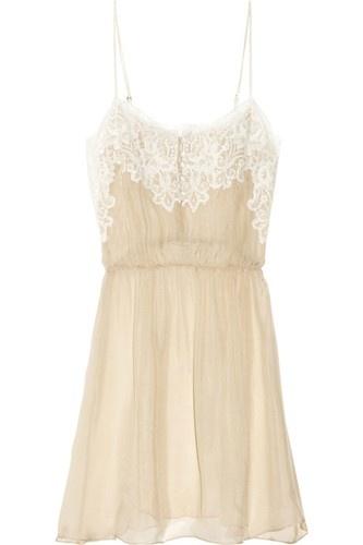 lace . beige . white . sheer . slip . nightwear . sleepwear . lingerie . delicate . refinery29