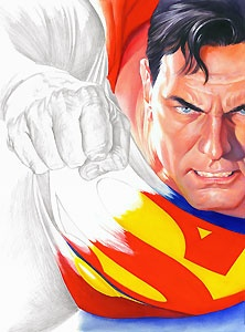 Superman - Rough Justice - Alex Ross - World-Wide-Art.com - $400.00 #AlexRoss #Superman