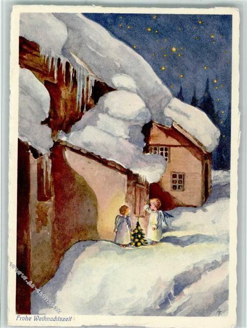 Verlag Henke Frohe Weihnachten - Engel brigen einen