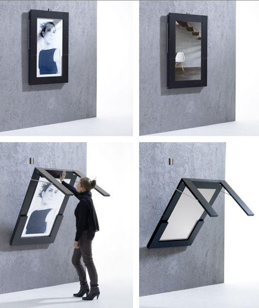 Mesa plegable para espacios peque os dibujos bocetos - Mesas de estudio para espacios pequenos ...