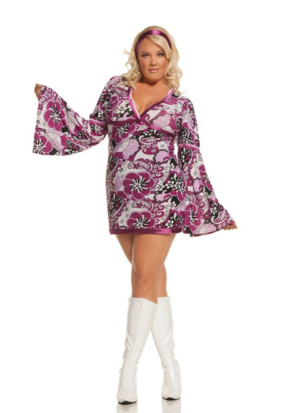 Plus size club dress 4x beaver