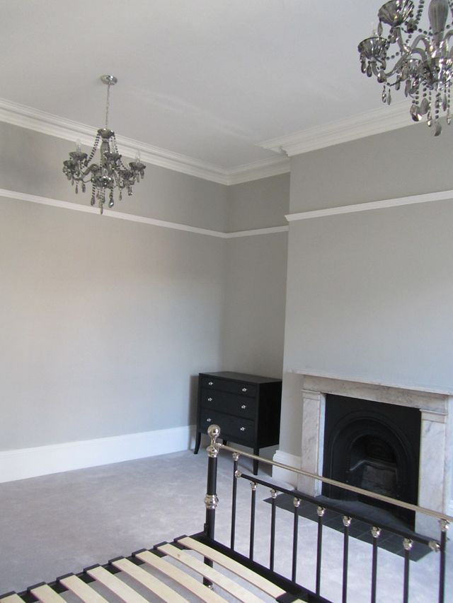 Guest Room Farrow And Ball Pavilion Grey Walls And