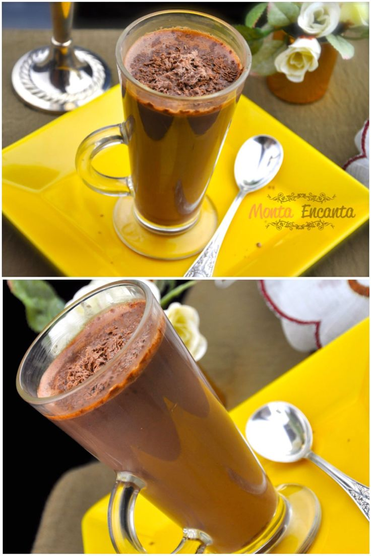 Chocolate Quente de Nutella, chocolate bem quentinho de Nutella! Receita sem segredo pronta em 2 minutinhos, no micro ondas