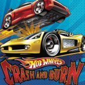 Hot Wheels Fast Action Lunch Napkins 16ct - Party City