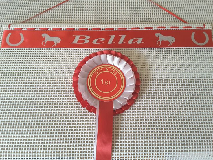 How to display your pony club Rosettes.  Our Rosette Display Holder  visit our website  www.displayyourrosettes.com