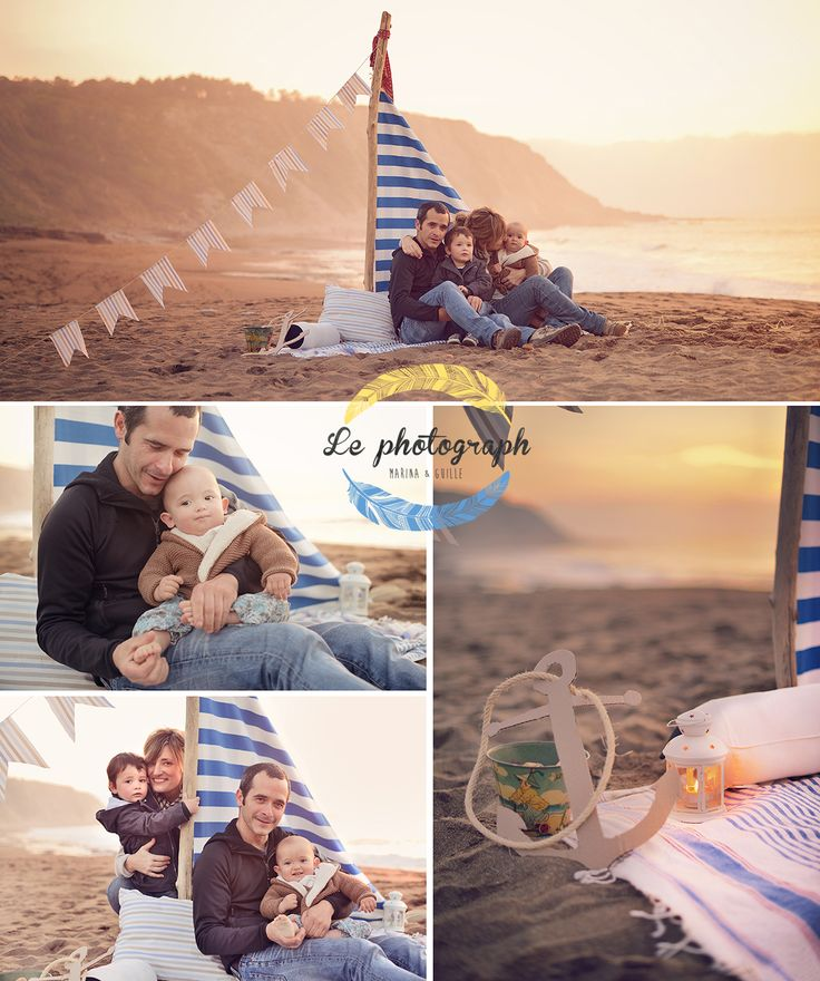 Brothers children photoshoot in the beach as sailors or pirates. Ship - boat - sail.  www.lephotograph.es