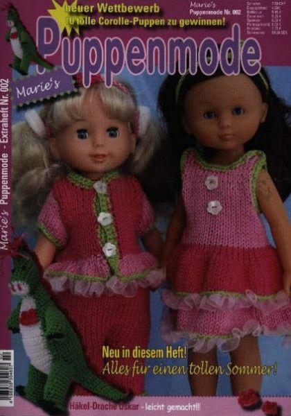 """Marie's Puppenmode 2/2015 """"Alles für einen tollen Sommer"""""""