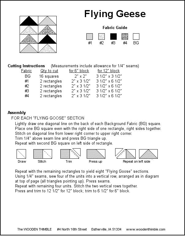 7 best Cutting Charts/Flying Geese images on Pinterest | Projects ... : quilt in a day flying geese - Adamdwight.com
