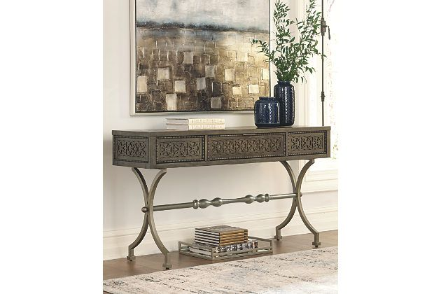 Quinnland Sofa Console Table Ashley Furniture Homestore Console Table Table Ashley Furniture Homestore