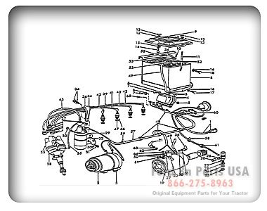ford tractor wiring diagram 17 best images about ford tractor wheels drawings ford 8n 11j02 electrical wiring 8n asn 263844