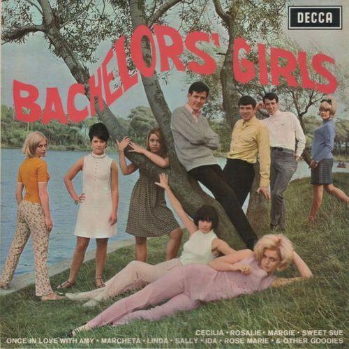 the Bachelors - Bachelors' Girls LP Mono Decca LK