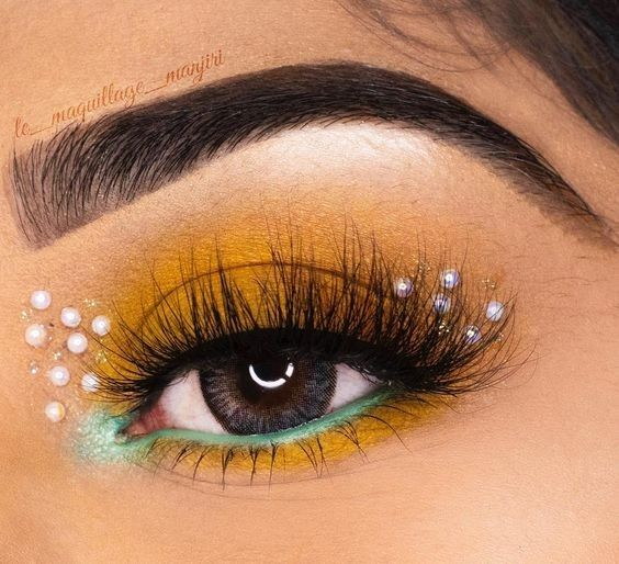 95 Super Stylish DIY Summer Eye Makeup Tutorials to Take Care of All Your Summer Dress-Up