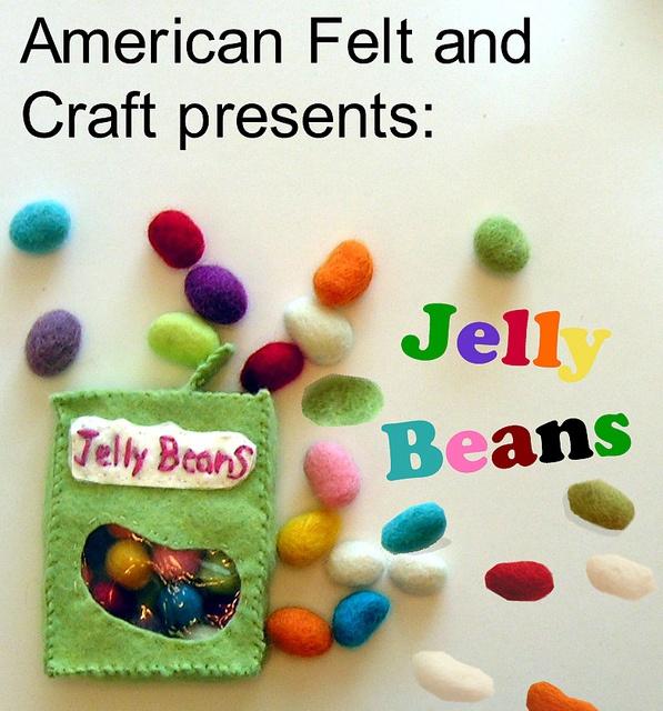 DIY Felt Jelly Beans