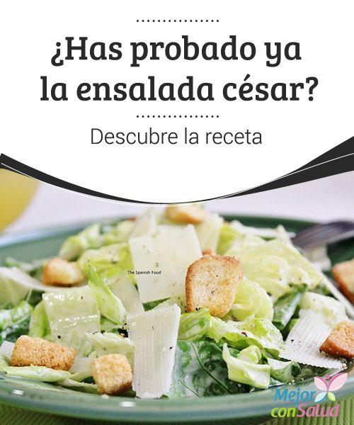 """¿Has probado ya la #ensalada césar? Descubre la #receta  ¿Has probado ya la ensalada césar? Descubre la receta. La ensalada César, es una #variedad de ensalada muy completa y sana"""""""""""""""