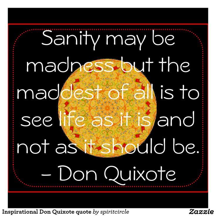Inspirational Don Quixote quote Mouse Pad   Zazzle