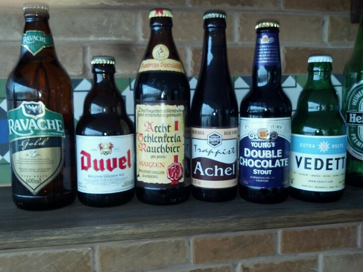 An Evening with special beers in Rio de Janeiro.