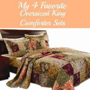 oversized king comforter sets
