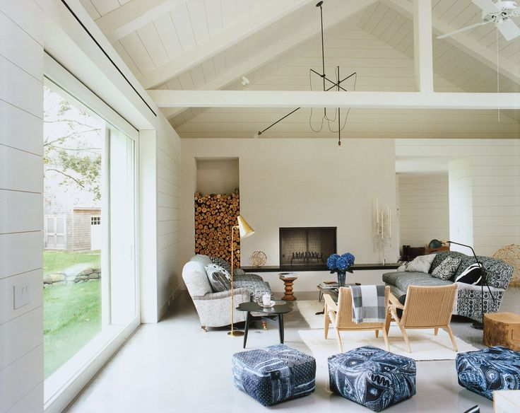 Love the white interiors in this house