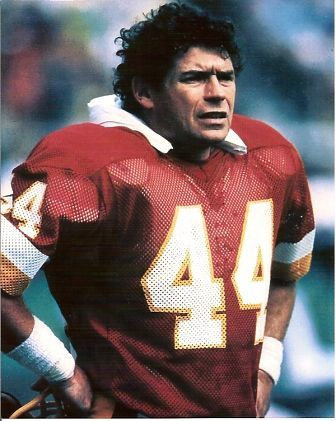 John Riggins.  Met him at a bar in Fairfax, VA.  Don't think he would remember.....he was tanked!  That was his constant state back then.
