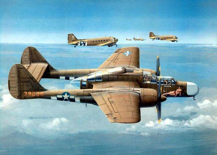 P-61 Black Widow North Africa