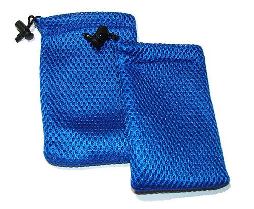 """Small Mesh Dive Bag, Goodie Bag, Shell Collecting 5"""" x 3.5""""   2 pack #generic"""