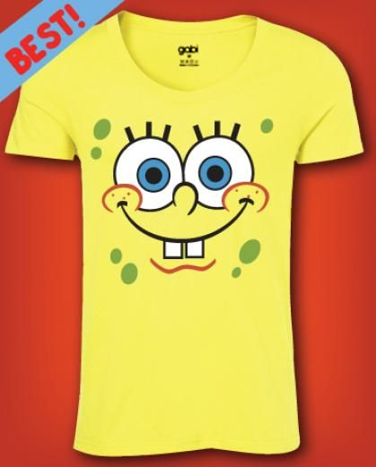 Spongebob tee shirt for men