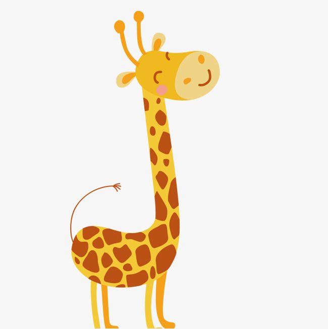 Cartoon Cute Giraffe Vector Png And Vector Giraffe Cute Giraffe Pluto The Dog