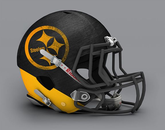 Steelers Helmet alternate design