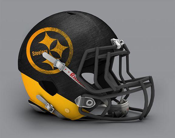 Steelers Helmet alternate design