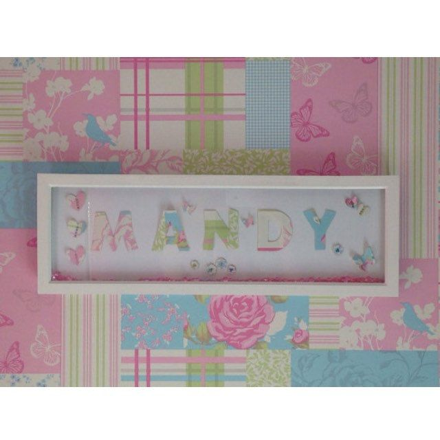 Offer of the day! Buy a name frame for £22 plus p&p.  That's a huge saving of £14.  There are only 6 frames available to order, once they are gone, there gone. Hurry to get your bargain now!