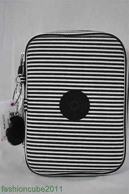 Kipling 100 Pens Pencil Case Black Stripe   eBay