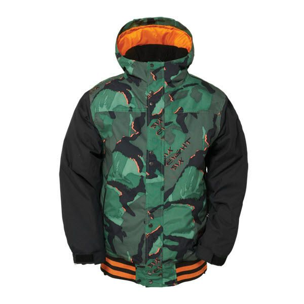 686 AUTHENTIC JUNIOR VARSITY BOYS SNOWBOARD JACKET GREEN CAMO LARGE AGE 14The Junior Varsity is a boys version of the mens Varsity jacket with great insulation and waterproofing. This jacket comes with great 120g insulation and great 10,000mm waterproofing and 10,000gm breathability #snowboard #juniorsnowboardjacket #686authenticjuniorvarsityboysnowboardjacket #colourgreencamo