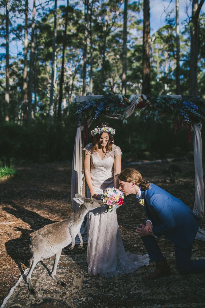 Donnelly River wedding