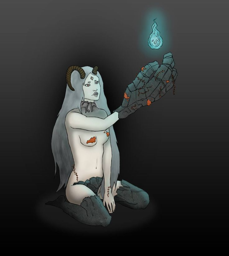 Alice Cappo - Golem illustration - Massoneria Creativa - www.massoneriacreativa.com