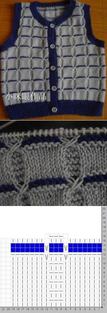 Узор для вязания спицами | вязание | Постила