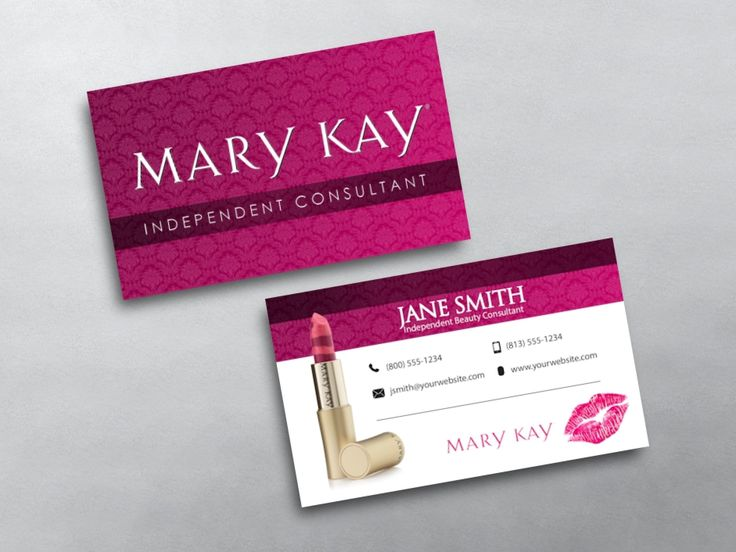 11 best mary kay business cards images on pinterest business cards custom mary kay business card printing for mary kay independent beauty consultants design print reheart Image collections