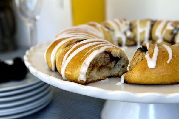 Swedish Blueberry Coffee Bread | F ö d o ä m n e | Pinterest