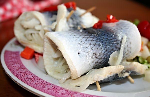 Zavináče z bílých ryb