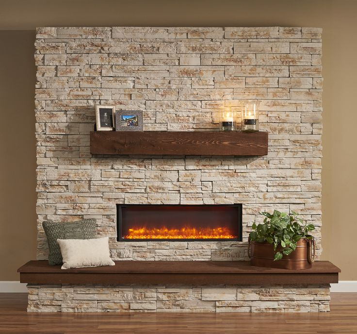 Stone Built Fireplaces best 25+ electric wall fireplace ideas only on pinterest