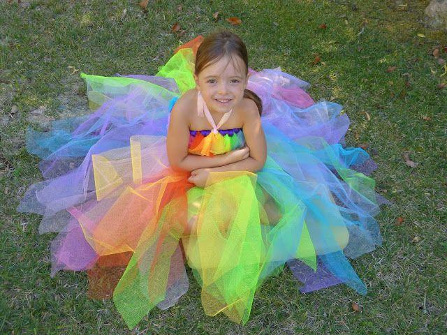 Robe de princesse en tulle très facile à faire